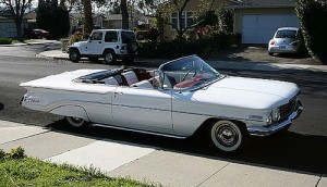 Convertible Oldsmobile 88
