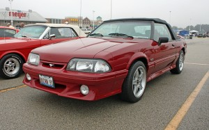 1991 convertible Ford Mustang