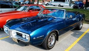 1968 Pontiac Firebird convertible top