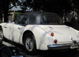 Stolen Austin Healey Convertible Returned To Owner