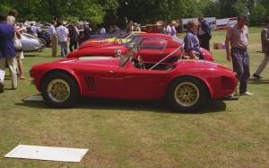 Cobra AC Bristol convertible top