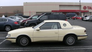 Chrysler TC by Maserati convertible top