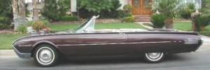 JFK's Ford Thunderbird convertible top