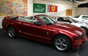 replacement mustang convertible top