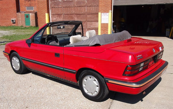 Buyer s guide to replacing your 1990 thru 1993 dodge shadow sundance convertible top