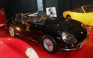 Replacement 1966 Ferrari convertible top