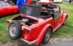 replacement Fiat Siata convertible top