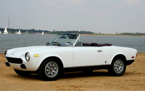 replacement Fiat Spider convertible top
