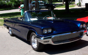 replacement Ford Thunderbird convertible top