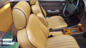 Mercedes 560SL Seat Covers