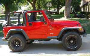 replacement Jeep Wrangler convertible top