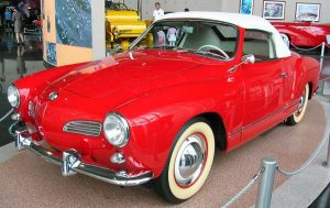 replacement Karmann Ghia convertible top