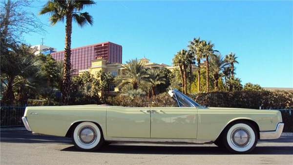 replacement Lincoln Continental convertible top