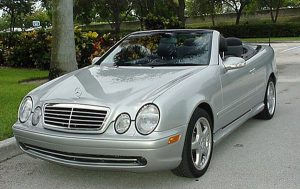 replacement Mercedes Benz convertible top