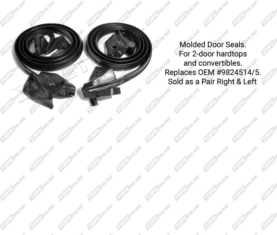 1971 1976 chevy impala caprice bel air hardtop rubber weather seals 1965 Chevy Bel Air