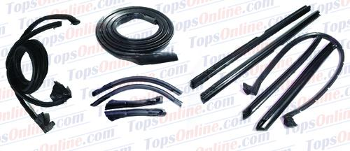 Rubber Weatherstrips (Weather Seals)