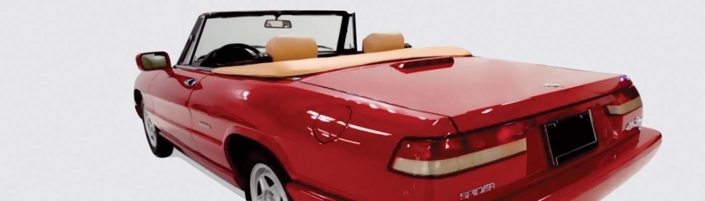 Alfa Romeo Convertible Tops Accessories Topsonline - Alfa romeo spider accessories