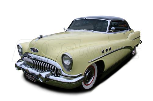 Rubber Weatherstrips (Weather Seals):1952 and 1953 Buick Roadmaster, Special & Super Hardtop