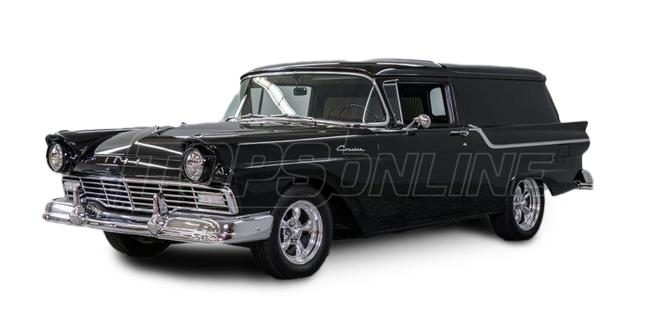 Automotive Headliners:Ford Courier Sedan Delivery Hardtop - 1957 thru 1960
