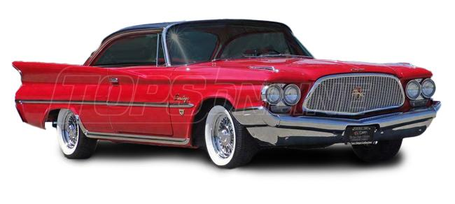 Automotive Headliners:Chrysler Saratoga Hardtop - 1960 thru 1962