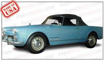 Convertible Tops & Accessories:1960 thru 1962 Alfa Romeo Spider 2000 (2 Passenger, 2-Liter)