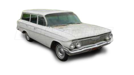 Automotive Headliners:Chevrolet Parkwood Station Wagon - 1961