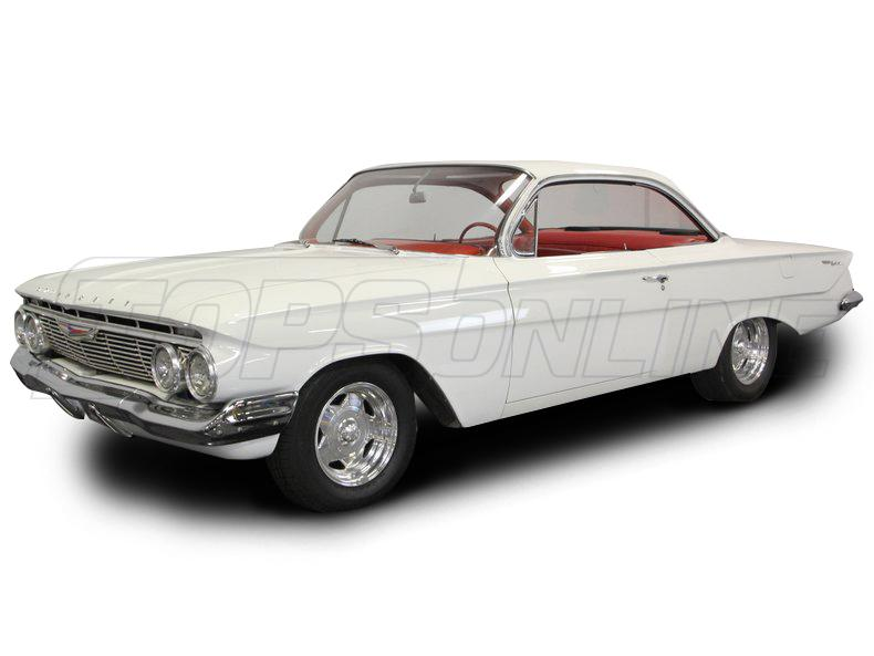 Rubber Weatherstrips (Weather Seals):1961 thru 1964 Chevrolet Bel Air, Biscayne & Impala--All Hardtop Styles