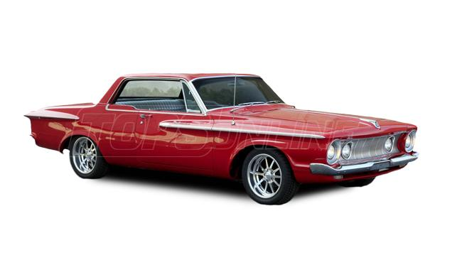 Rubber Weatherstrips (Weather Seals):1962 and 1963 Plymouth Belvedere & Fury--All Hardtop Styles