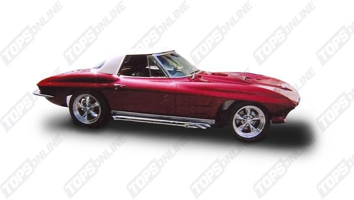 Chevrolet Corvette 1963 Thru 1967 Landau Vinyl Tops