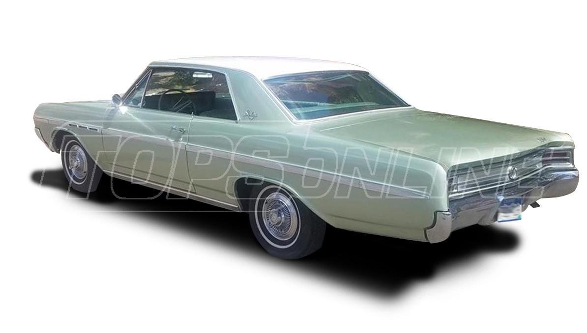 Rubber Weatherstrips (Weather Seals):1964 and 1965 Buick Skylark, Special & Sportwagon --All Hardtop Styles