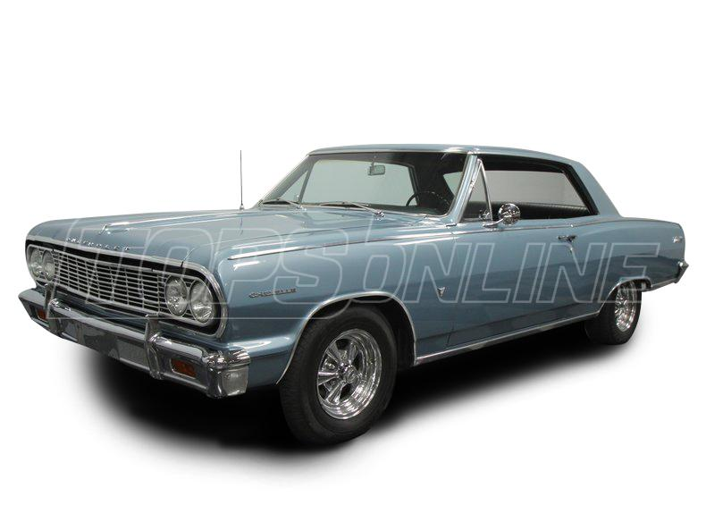 Rubber Weatherstrips (Weather Seals):1964 and 1965 Chevrolet Chevelle & Malibu--All Hardtop Styles