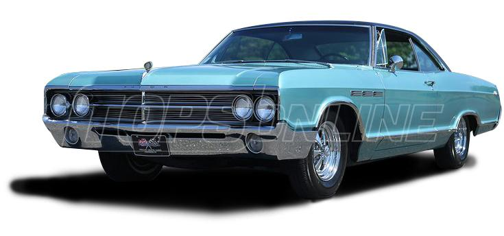 Rubber Weatherstrips (Weather Seals):1965 and 1966 Buick Lesabre, Electra, & Wildcat--All Hardtop Styles