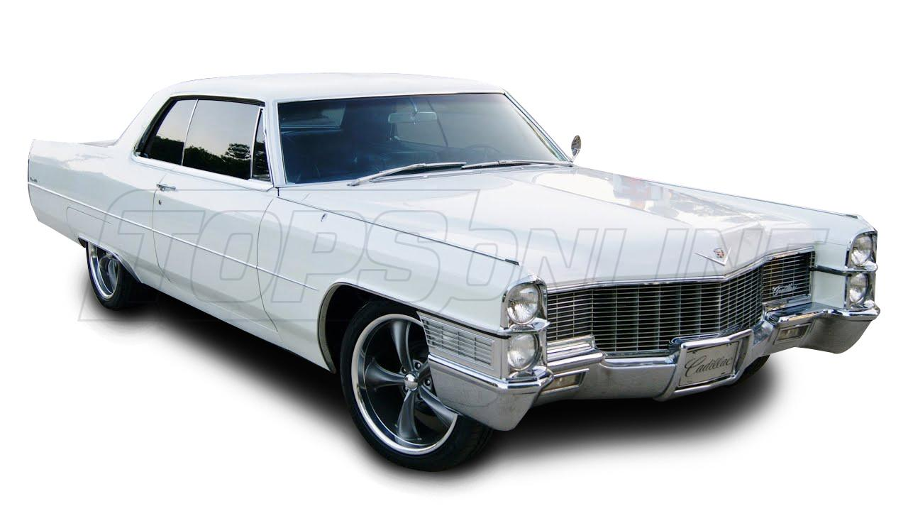 Rubber Weatherstrips (Weather Seals):1965 and 1966 Cadillac Deville & Calais - All Hardtop Styles