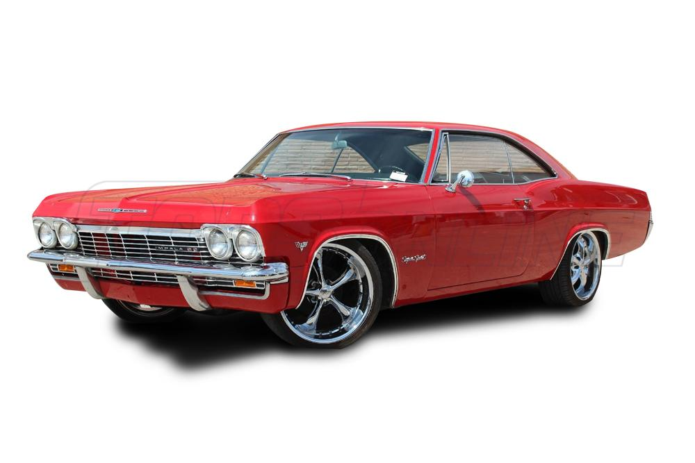 Rubber Weatherstrips (Weather Seals):1965 and 1966 Chevy Impala & Caprice--All Hardtop Styles