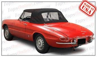Convertible Tops & Accessories:1966 thru 1970 Alfa Romeo Duetto Spider, 1600 & 1750 Spider Veloce