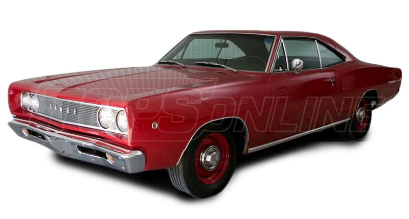 Rubber Weatherstrips (Weather Seals):1968 and 1969 Dodge Coronet (B Body) Hardtop & Post Coupe