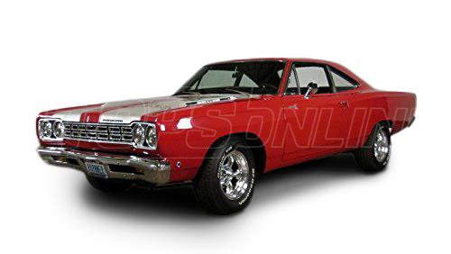Automotive Headliners:Plymouth Roadrunner Hardtop - 1968 thru 1974