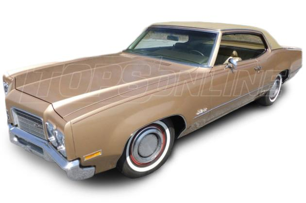 Rubber Weatherstrips (Weather Seals):1969 and 1970 Oldsmobile Delta 88--All Hardtop Styles