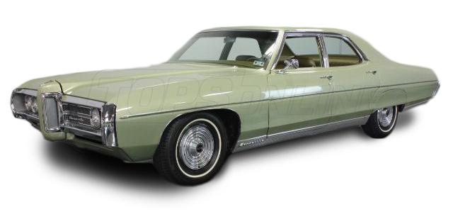 Rubber Weatherstrips (Weather Seals):1969 and 1970 Pontiac Bonneville, Catalina & Executive--All Hardtop Styles