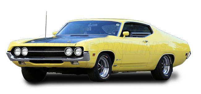 Automotive Headliners:Ford Torino Hardtop - 1970 thru 1976