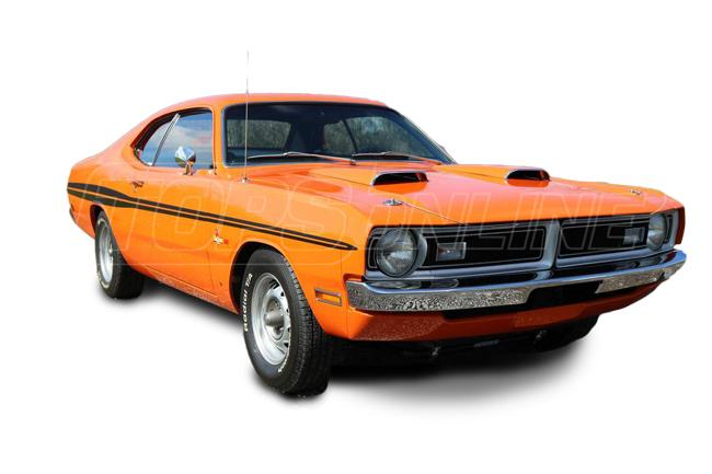 Automotive Headliners:Dodge Demon Hardtop - 1971 and 1972