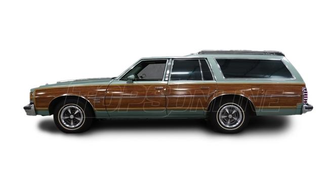 Automotive Headliners:Pontiac Safari Station Wagon - 1973 thru 1977