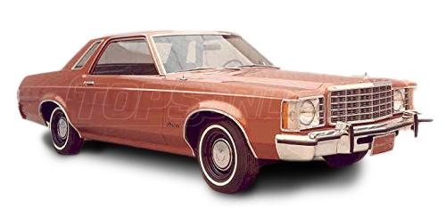 Automotive Headliners:Ford Granada Hardtop - 1975 thru 1979