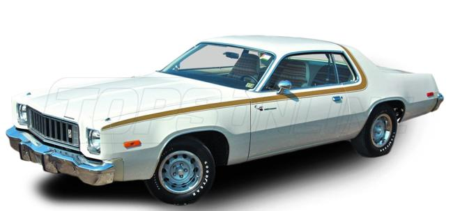 Rubber Weatherstrips (Weather Seals):1975 thru 1978 Plymouth Fury & Roadrunner (B Body) Hardtop & Hardtop Coupe