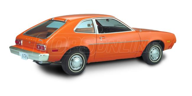 Automotive Headliners:Ford Pinto Hardtop - 1971 thru 1979