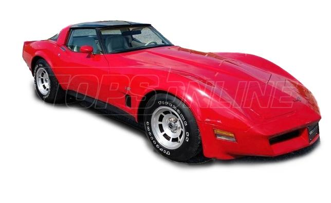 Rubber Weatherstrips (Weather Seals):1978 thru 1982 Chevy Corvette T-Top Coupe
