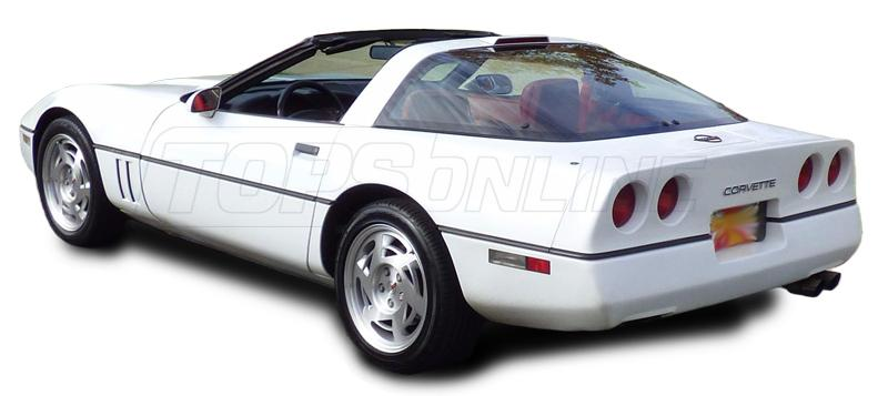 Rubber Weatherstrips (Weather Seals):1990 thru 1996 Chevy Corvette Targa Top Coupe