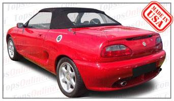 Convertible Tops & Accessories:1996 thru 1998 MGF & MGTF