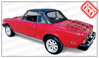 Convertible Tops & Accessories:1979 thru 1985 Fiat 124 Spider 2000 & Pininfarina
