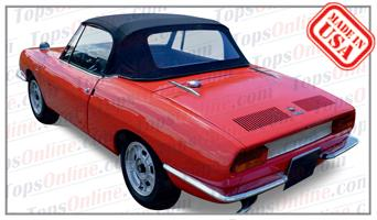 Convertible Tops & Accessories:1967 thru 1973 Fiat 850 Spider & Sport Spider
